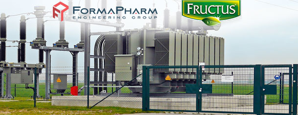 CREATION OF THE TECHNICAL DOCUMENTATION FOR THE TRANSFORMER STATION OF THE FRUCTUS FACTORY